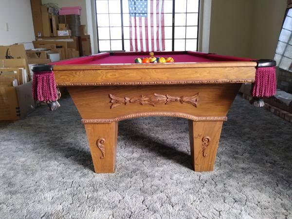 Solo 174 Manteca Custom Delmo Billiards 8 Pool Table 193