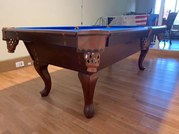 Solo 174 Fairfield Legacy Billiards 7 Ft Pool Table 161
