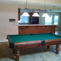 Custom Made Golden West Billiards Table