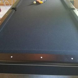 Black Pool Table Imperial International