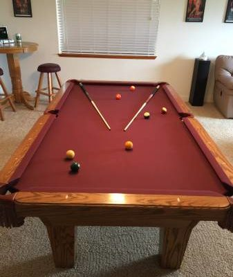"Pool Table ""OLHAUSEN"""