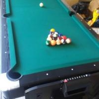 Pool Table Air Hockey Table