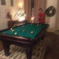 Competition Size Pool Table
