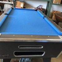 One Piece 8ft Pool Table Ball return system