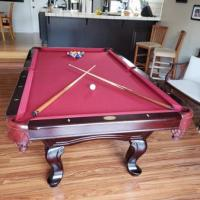 Cherrywood Pool Table
