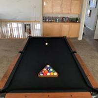 Pool Table 8' Tournament Slate