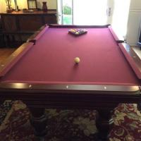 4 x 8 Regulation Size Pool Table