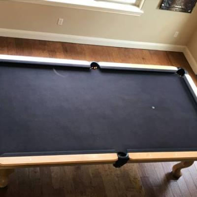 Olehausen 9 Foot Accu Fast Pool Table