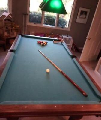 Pool Table + Accessories- Custom made by Golden West Billiards Inc