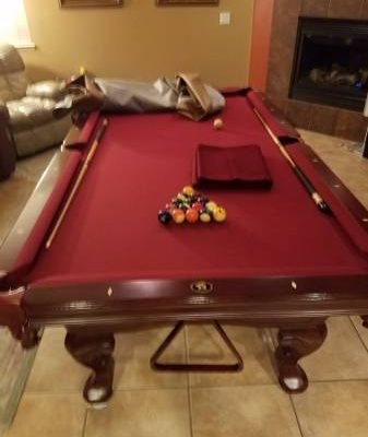 Pool Table 3 Piece Slate