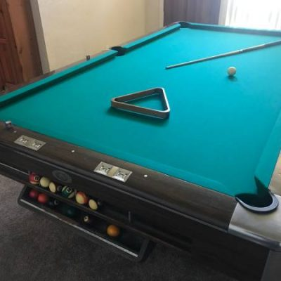Gandy Big G 9ft. Pool Table