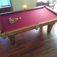 7ft Slate Pool Table