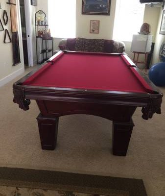 Beautiful Bassford Pool Table